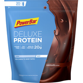 PowerBar Deluxe Protein - Nutrition sport - Chocolate 500g marron/bleu